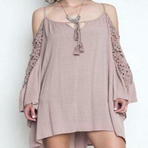 Off the Shoulder Lace Dress