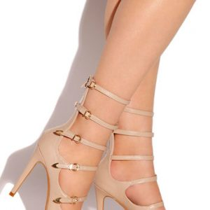 Divine Decadence Buckle-Up Stiletto
