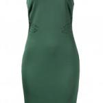 Spense V-Neck Sleeveless Laser Cut Dress