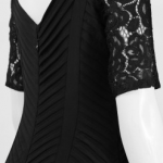 Lovely Lacey Zipper Back Dress