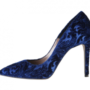 Chiara Velvet High Heel Pump