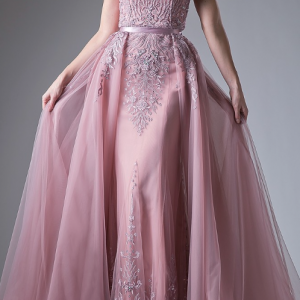 Princess Anne Crystal Sweetheart Ball Gown