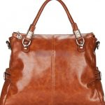 Naomi Soft Leather Satchel Shoulder Bag