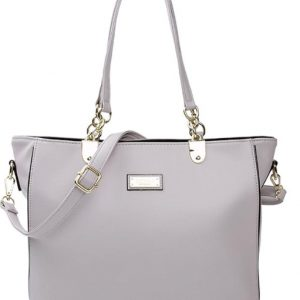 Hillary Gray Shoulder Strap Handbag