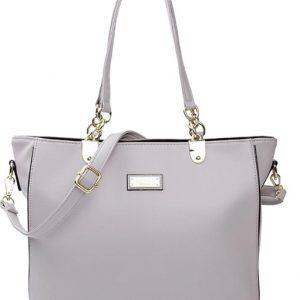 Hillary Gray Shoulder Strap Handbag