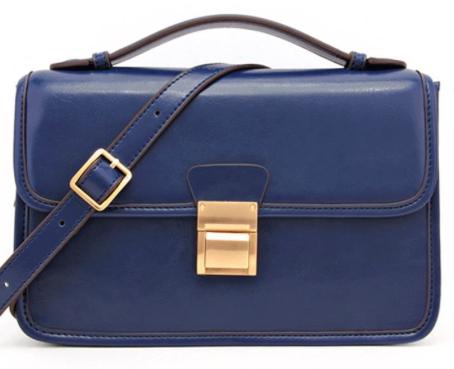 Maggie Saddle Bag Shoulder Strap Handbag