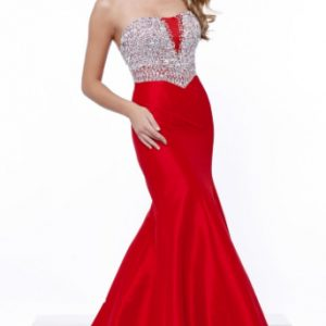 Sweetheart Beaded Bodice Ball Gown